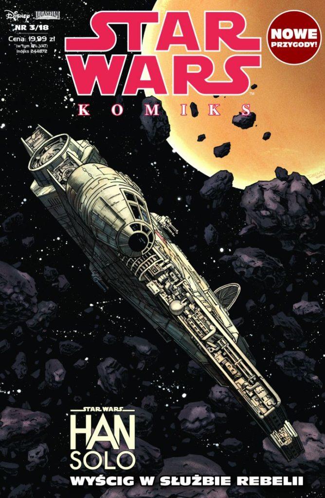 Han Solo | Zapowiedź STAR WARS KOMIKS 3/2018