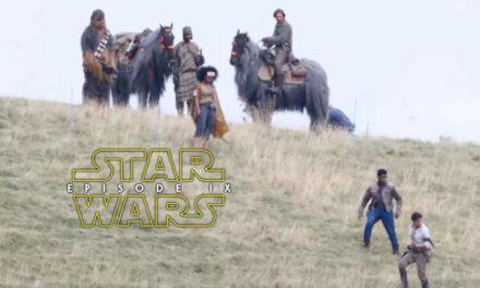 Poe, Finn i Chewie na zdjęciach z planu | Epizod IX