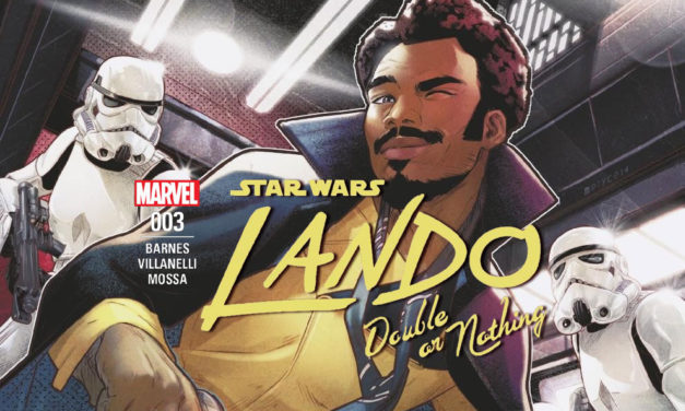 Lando – Double or Nothing 003 | Recenzja komiksu
