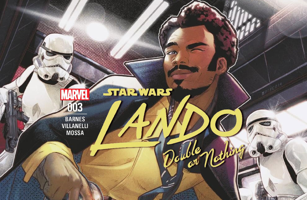 Lando - Double or Nothing 003 | Recenzja komiksu