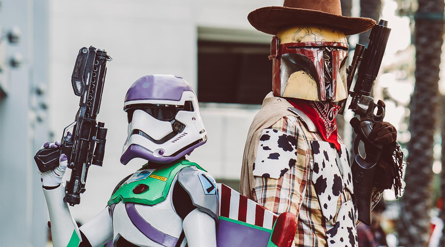 Buzz Trooper i Chudy Fett | Mashup cosplay