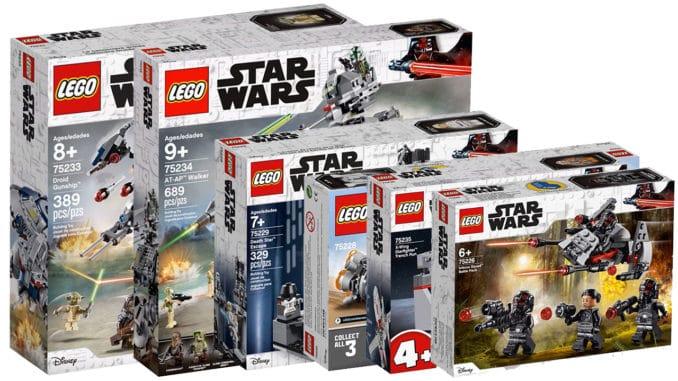 Nowe zestawy na pierwszą połowę 2019 roku | LEGO Star Wars