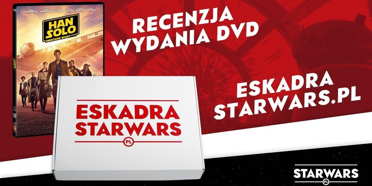 """Han Solo"" na DVD i unboxing Eskadry starwars.pl | YouTube"