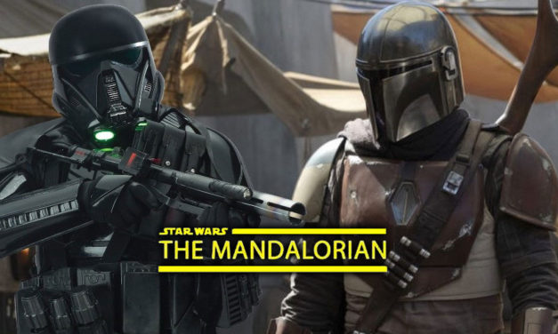 "Death Trooperzy szturmują plan serialu | ""The Mandalorian"""