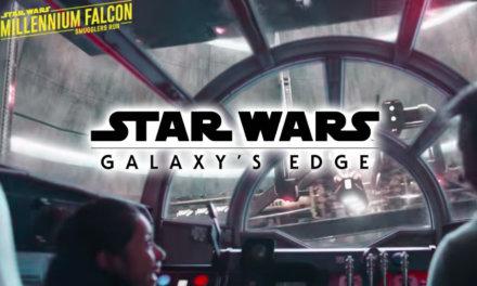 Nowe materiały promujące parki rozrywki | Galaxy's Edge