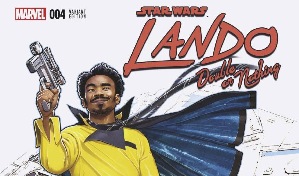 Lando – Double or Nothing 004 | Recenzja komiksu
