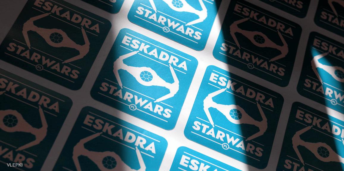 Vlepki Eskadra starwars.pl