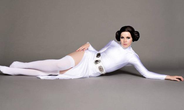 Leia, dziewczyna Bonda | Mashup cosplay