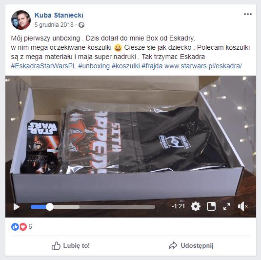Unboxing Eskadra starwars.pl