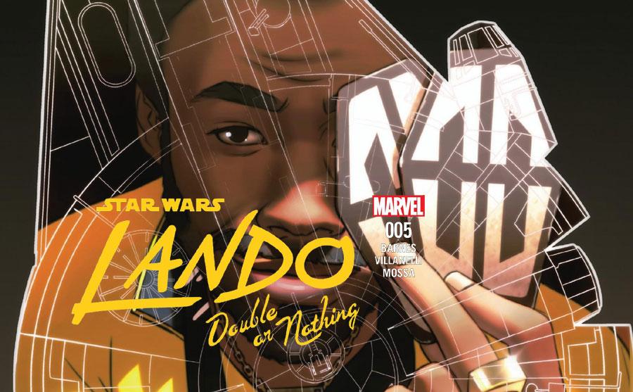 Lando – Double or Nothing 005   Recenzja komiksu