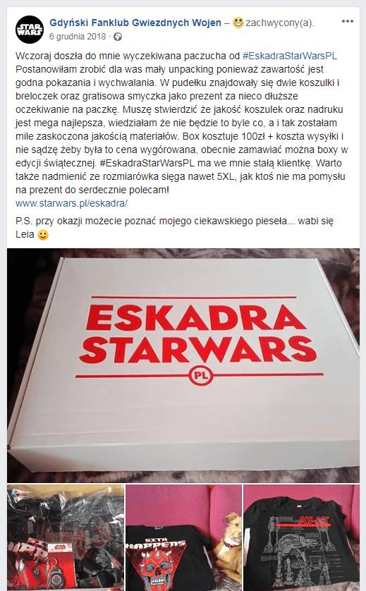 Opinie Eskadra starwars.pl