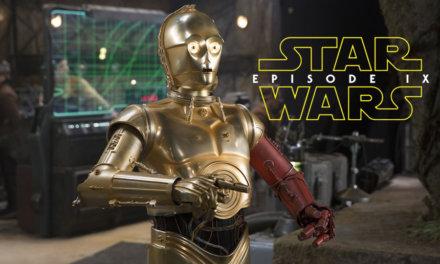 C-3PO żegna się z filmem i ekipą | Epizod IX