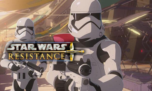 """Colossus pod okupacją w zapowiedzi """"The First Order Occupation""""   """"Star Wars Resistance"""""""