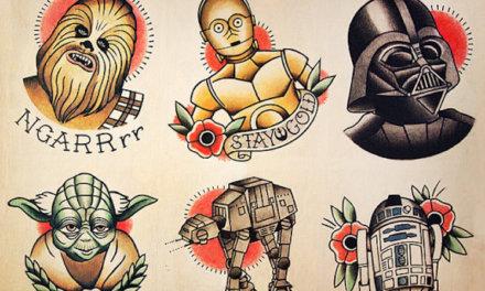 Kreatywne tatuaże inspirowane Gwiezdnymi Wojnami [EPIZOD 1]
