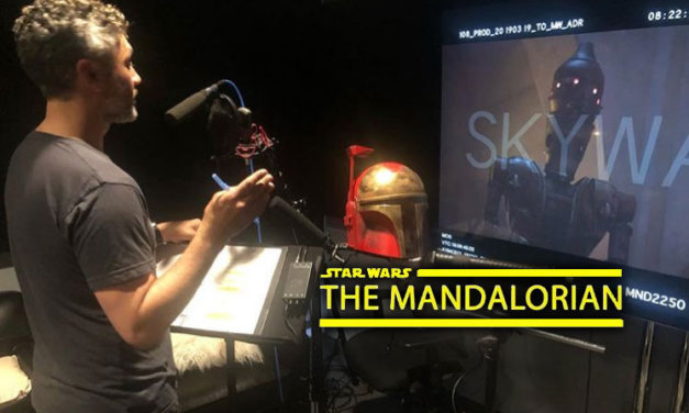 "Głos IG oraz panel na Celebration 2019 | ""The Mandalorian"""