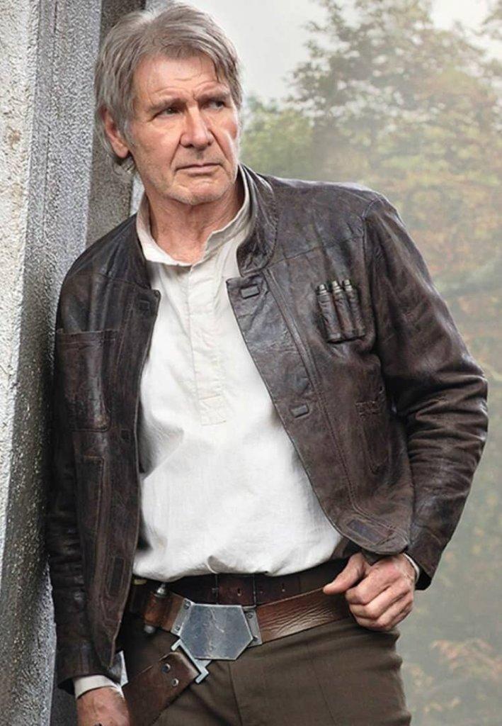 04b73c76001f7b Kurtka, którą nosił Harrison Ford w Przebudzeniu Mocy została wystawiona na  aukcji charytatywnej na rzecz organizacji wspomagającej leczenie osób  chorych ...