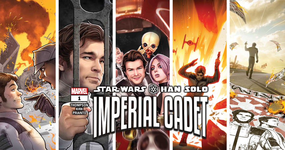 Han Solo: Imperial Cadet 001-005 | Recenzja komiksów