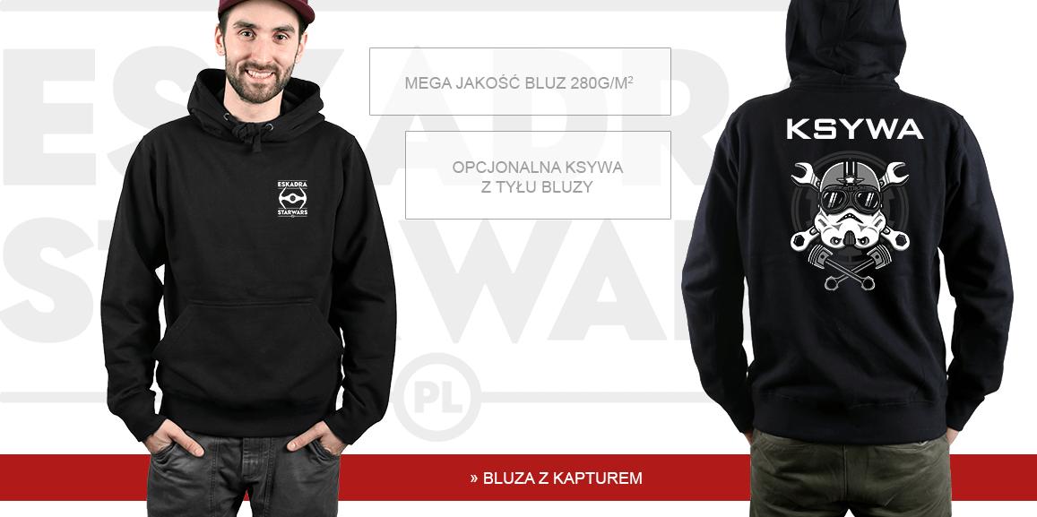 Bluza męska z kapturem Eskadra starwars.pl