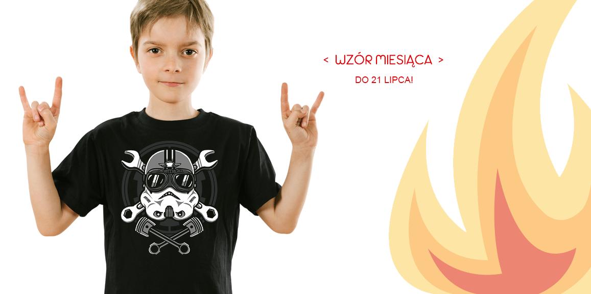 koszulki dla dzieci gwiezdne wojny