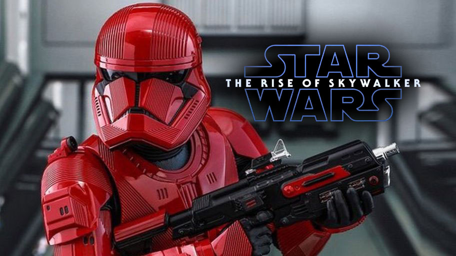 "Nowe informacje na temat Sith Trooperów | ""The Rise of Skywalker"""