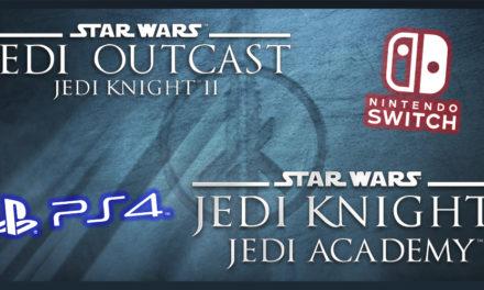 Jedi Academy i Jedi Outcast pojawią się na PS4 i Nintendo Switch!