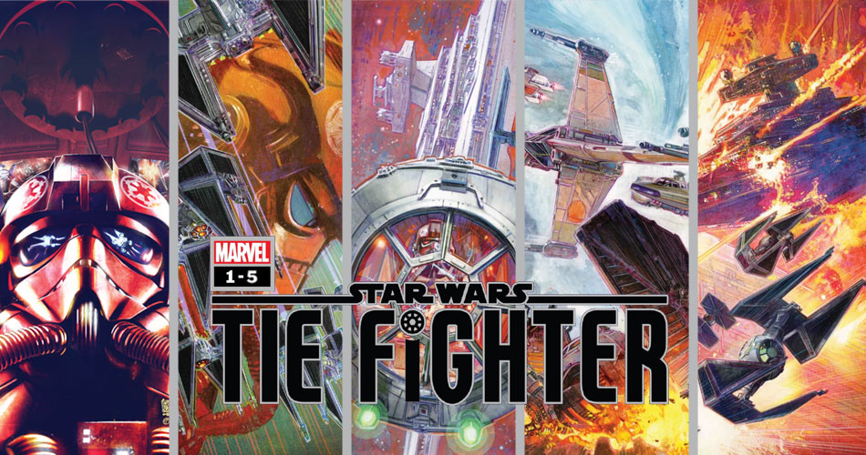 Star Wars: Tie Fighter 1-5 | Recenzja komiksu