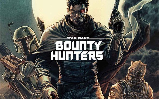 """Łowcy nagród z własnym komiksem   """"Bounty Hunters"""""""