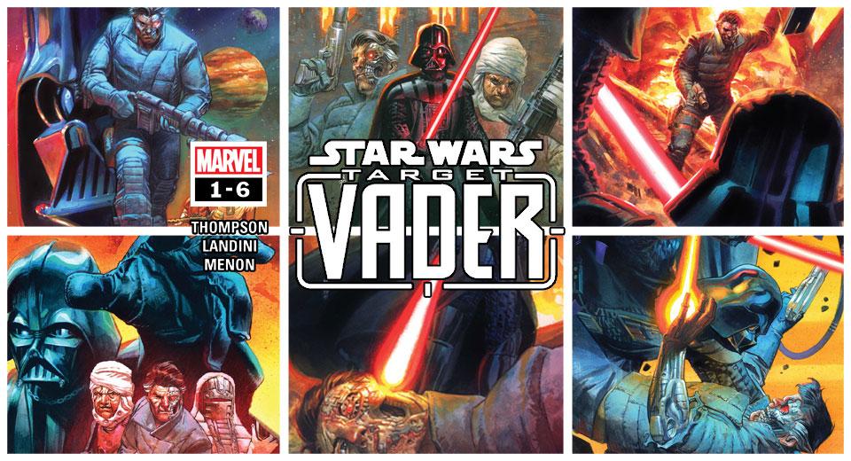 Target: Vader 1-6   Recenzja komiksu