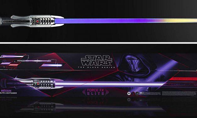 Hasbro zapowiedziało miecz świetlny Dartha Revana