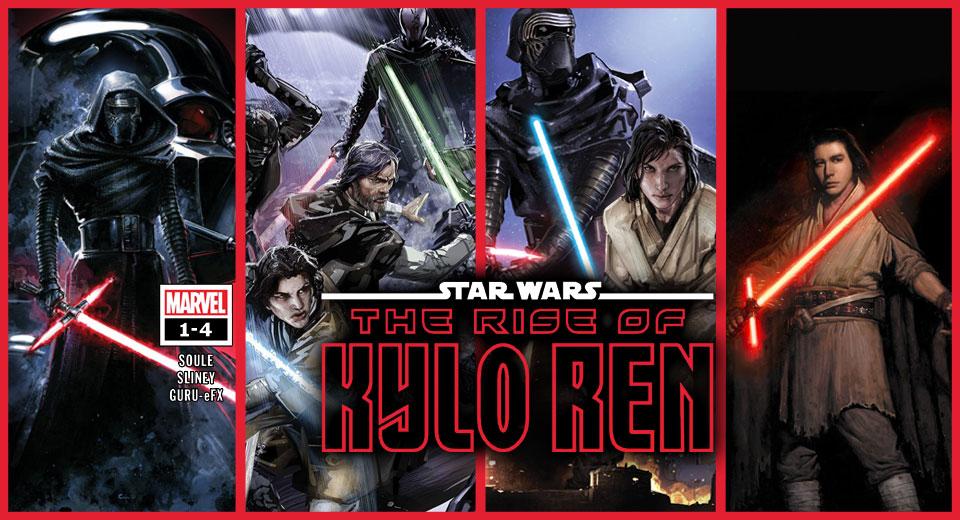 The Rise of Kylo Ren 1-4 | Recenzja komiksu