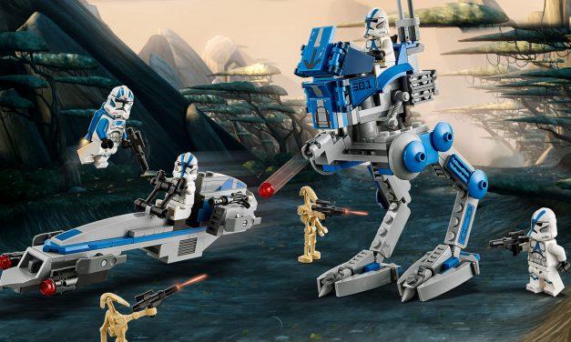 Legendarne klony w nowym zestawie | LEGO Star Wars