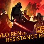 """Kylo kontra Ruch oporu w nowym odcinku   """"Galaxy of Adventures"""""""