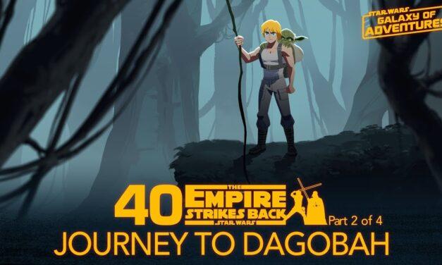 "Szkolenie na Dagobah | ""Galaxy of Adventures"""