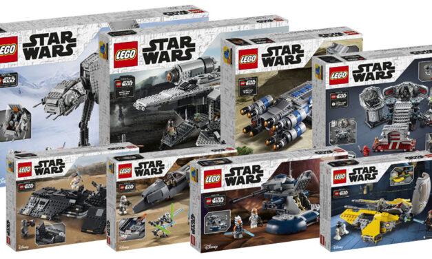 Wszystkie zestawy na lato 2020 | LEGO Star Wars