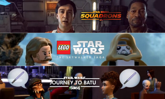 Simsy, LEGO Star Wars i Squadrons wprost z gamesconu 2020