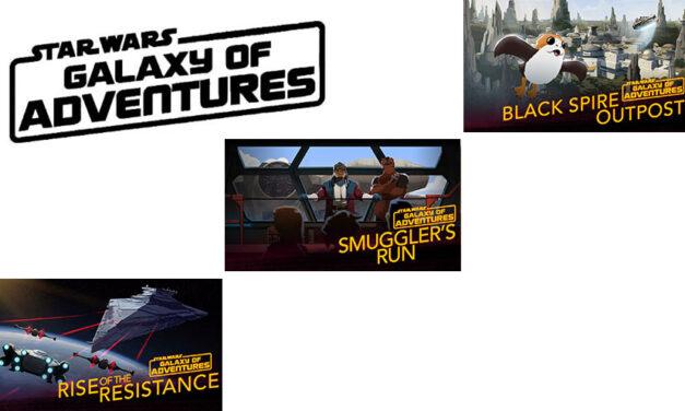 """Wycieczka na Batuu   """"Galaxy of Adventures"""""""