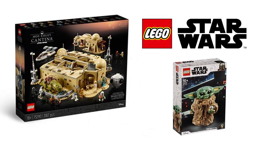 Nowe zestawy – Kantyna i Baby Yoda | LEGO Star Wars