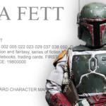 Boba Fett został zarejestrowany jako znak towarowy